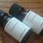 ユーカリとペパーミントの精油で花粉症の鼻づまり対策してみた