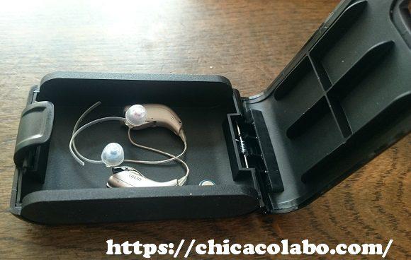 補聴器耳かけ型