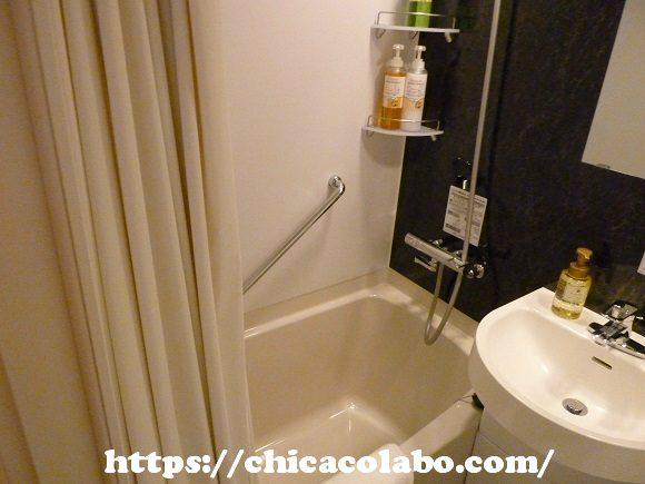 変なホテル浜松町のお風呂