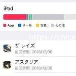iPadの容量は32GBで足りるか?実際の使用量を載せてみる